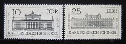 Poštovní známky DDR 1981 Berlínská architektura Mi# 2619-20