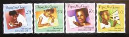 Poštovní známky Papua Nová Guinea 1989 Týden psaní Mi# 588-91
