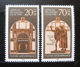Poštovní známky DDR 1988 Madlerùv oblouk Mi# 3153-54