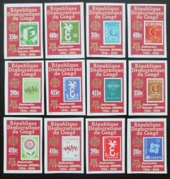 Poštovní známky Kongo Dem., Zair 2005 Evropa CEPT neperf. Mi# 1831-42 B 30€