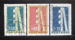 Poštovní známky Portugalsko 1955 Telegraf Mi# 844-46
