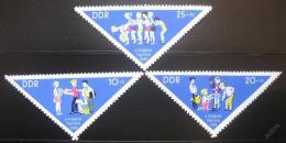 Poštovní známka DDR 1964 Setkání pionýrù Mi# 1045-47