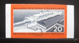 Poštovní známka DDR 1960 Pøístav Sassnitz neperf Mi# 805