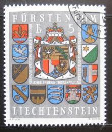 Poštovní známka Lichtenštejnsko 1973 Znaky Mi# 590 Kat 5€