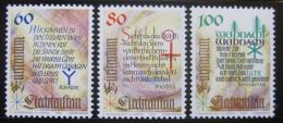 Poštovní známky Lichtenštejnsko 1993 Vánoce Mi# 1073-75