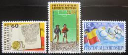 Poštovní známky Lichtenštejnsko 1994 Události Mi# 1081-83