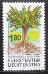 Poštovní známka Lichtenštejnsko 1993 Práce misionáøù Mi# 1064