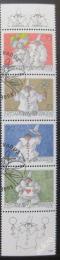 Poštovní známky Lichtenštejnsko 1998 Klauni Mi# 1173-76