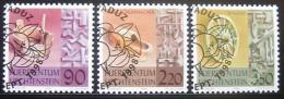 Poštovní známky Lichtenštejnsko 1998 Tradice Mi# 1180-82 Kat 15€