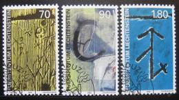 Poštovní známky Lichtenštejnsko 1999 Dùm Walser Mi# 1220-22
