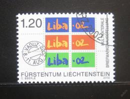 Poštovní známka Lichtenštejnsko 2002 LIBA výstava Mi# 1185