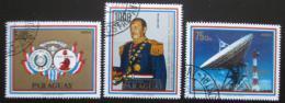Poštovní známky Paraguay 1978 Prezident Stroessner Mi# 3103-05