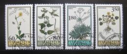 Poštovní známky Lichtenštejnsko 1995 Rostliny Mi# 1056-59