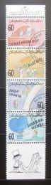 Poštovní známky Lichtenštejnsko 1995 Psaní dopisù Mi# 1111-14