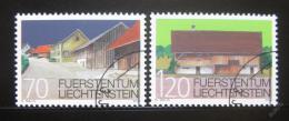 Poštovní známky Lichtenštejnsko 2002 Architektura Mi# 1294-95