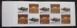 Sešitek Faerské ostrovy 1997 Kostel Mi# MH 14