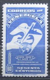 Poštovní známka Venezuela 1950 Výroèí UPU Mi# 560