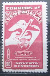 Poštovní známka Venezuela 1950 Výroèí UPU Mi# 561