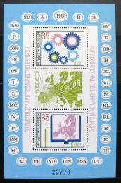 Poštovní známky Bulharsko 1981 Konference bezpeènosti Mi# Block 117