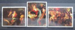 Poštovní známky Paraguay 1982 Umìní, vánoce Mi# 3564-66