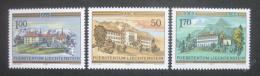 Poštovní známky Lichtenštejnsko 1985 Kláštery Mi# 868-70 Kat 5.20€