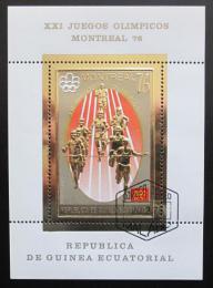Poštovní známka Rovníková Guinea 1976 LOH Montreal Mi# Block 212