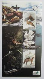 Poštovní známky Pobøeží Slonoviny 2003 Africká fauna