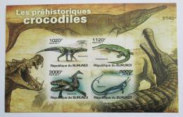 Poštovní známky Burundi 2011 Pravìcí krokodýli neperf Mi# Block 163 B