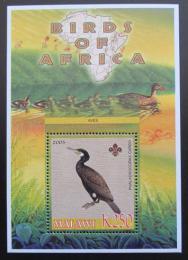 Poštovní známka Malawi 2005 Kormorán velký, skauting