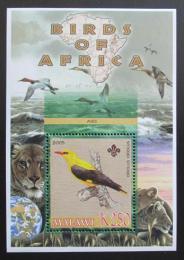 Poštovní známka Malawi 2005 Žluva, skauting