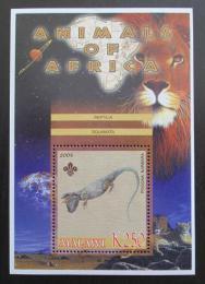 Poštovní známka Malawi 2005 Agama australská, skauting