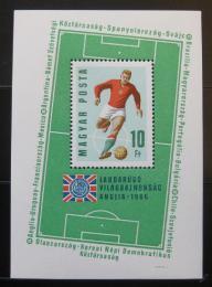 Poštovní známka Maïarsko 1966 MS ve fotbale Mi# Block 53