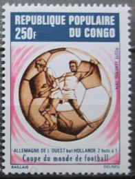 Poštovní známka Kongo 1974 MS ve fotbale Mi# 416