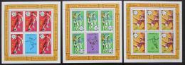 Poštovní známky Antigua 1978 MS ve fotbale Mi# 513-15 Archy Kat 18€
