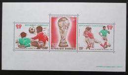 Poštovní známky Gabon 1978 MS ve fotbale Mi# Block 34