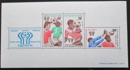 Poštovní známky Mali 1978 MS ve fotbale Mi# Block 10 II
