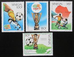 Poštovní známky Senegal 1988 Africký pohár Mi# 973-76