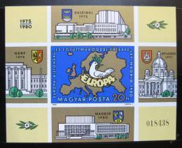 Poštovní známka Maïarsko 1980 Konference bezpeènosti Mi# Block 147 B Kat 30€