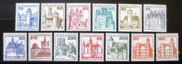 Poštovní známky Nìmecko 1977-78 Hrady a zámky Mi# 913-20,995-99 Kat 19€