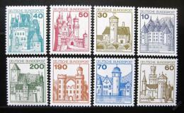 Poštovní známky Nìmecko 1977 Hrady a zámky Mi# 913-20