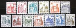 Poštovní známky Západní Berlín 1977-79 Hrady a zámky Mi# 532-40,587-90 Kat 14€