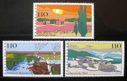 Poštovní známky Nìmecko 1997 Scénické regiony Mi# 1943-45