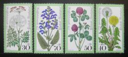 Poštovní známky Nìmecko 1977 Luèní kvìtiny Mi# 949-52