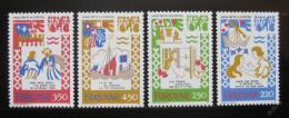 Poštovní známky Faerské ostrovy 1982 Balada Mi# 75-78