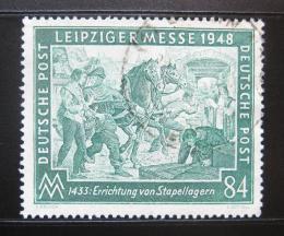 Poštovní známky Nìmecko 1948 Lipský veletrh Mi# 968