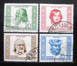 Poštovní známky DDR 1952 Osobnosti Mi# 311-14