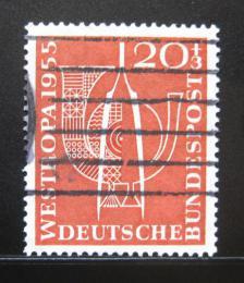 Poštovní známka Nìmecko 1955 WESTROPA Mi# 218 Kat 13€