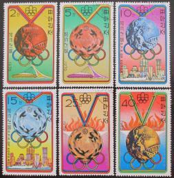 Poštovní známky KLDR 1976 LOH Mnichov Mi# 1516-21