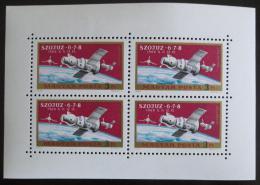 Poštovní známky Maïarsko 1970 Soyuz 6-8 Mi# 2575 A