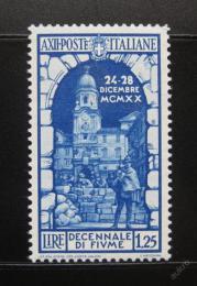 Poštovní známka Itálie 1934 Vìž St. Vito Mi# 466